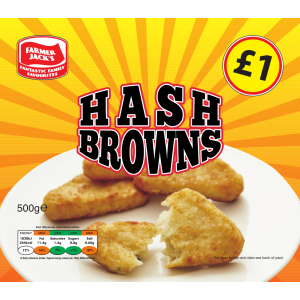 Farmer Jack's Hash Browns