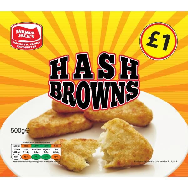 Farmer Jack's Hash Browns