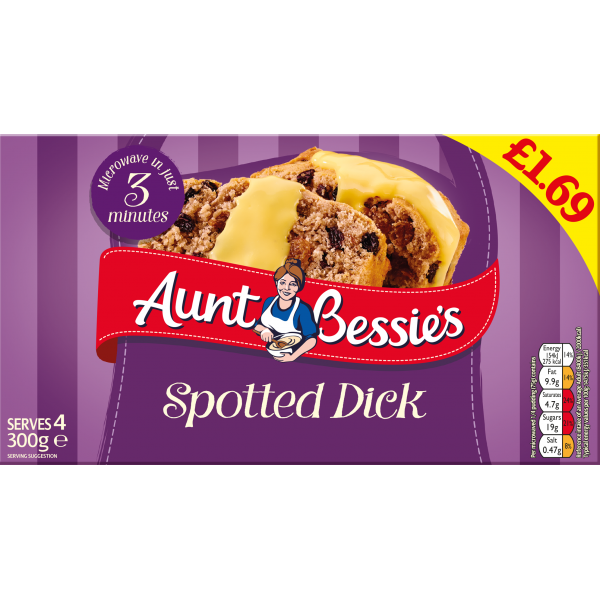 Aunt Bessie's Spotted Dick