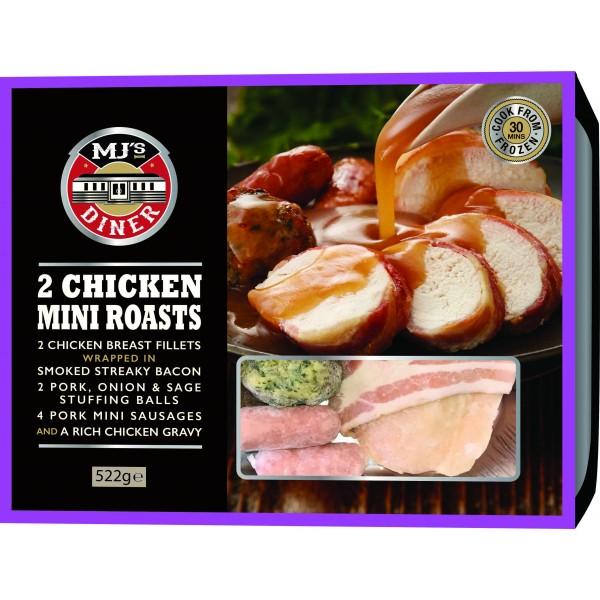MJ's 2 Chicken Mini Roasts