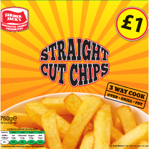 Farmer Jack's Straight Cut Chips