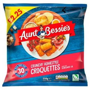 Aunt Bessie's Crunchy Croquettes