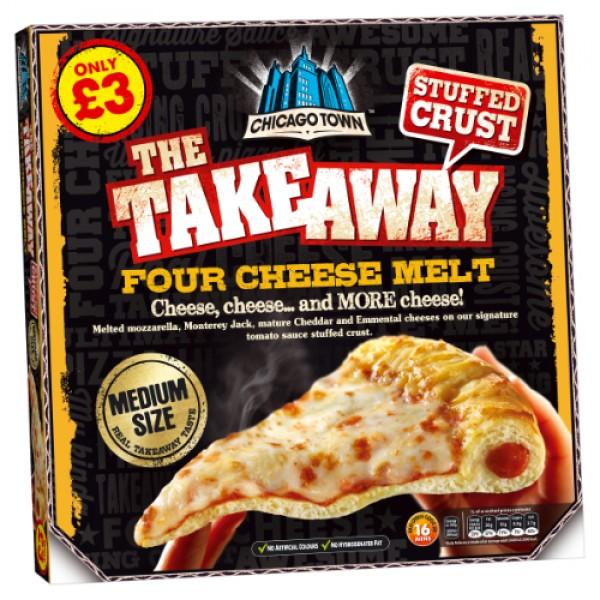 Chicago Town Takeaway Cheese & Tomato
