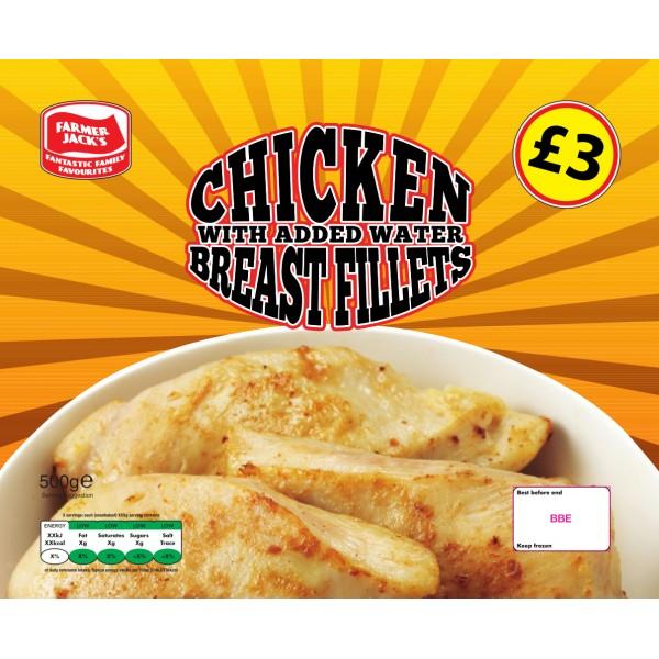 Farmer Jack's Chicken Breast Fillets