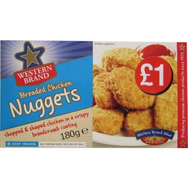 Western Brand chicken nuggets