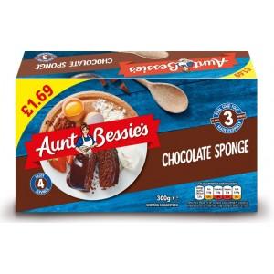 Aunt Bessie's Chocolate Sponge