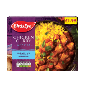 Birds Eye chicken curry