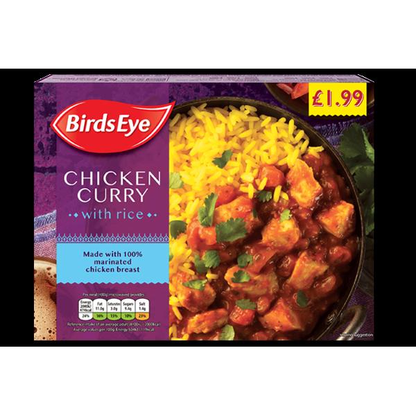 Birds Eye chicken curry