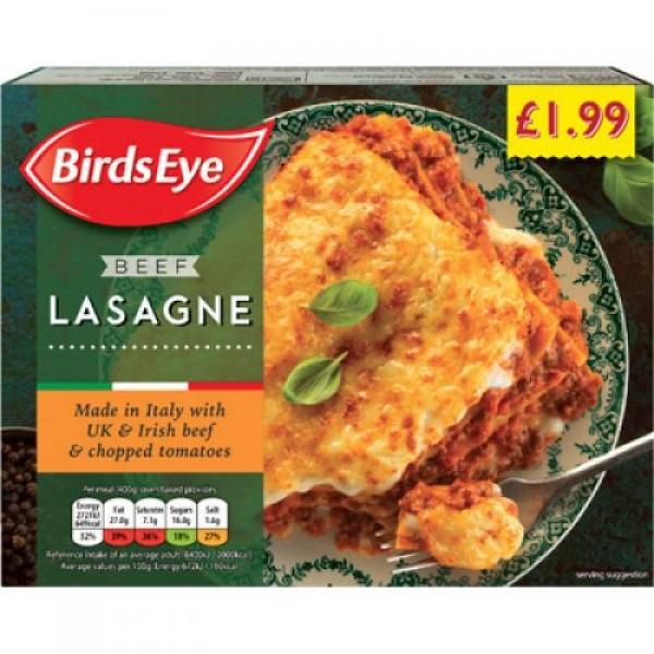 Birds Eye Lasagne Ragu