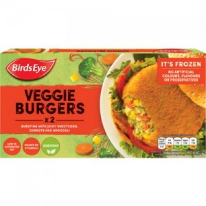 Birds Eye Vegetable Burger