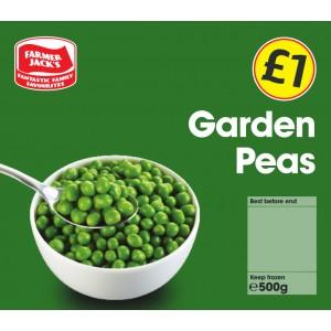 Farmer Jack's Garden Peas