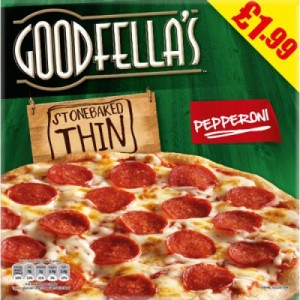 Goodfella's Stone Baked Thin Pepperoni
