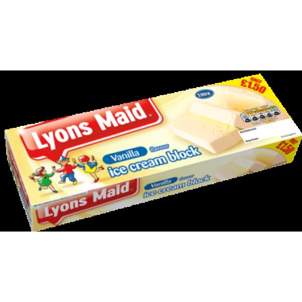 Lyons Maid Vanilla Block