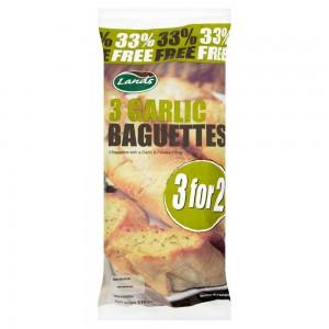 Land's Garlic Baguettes