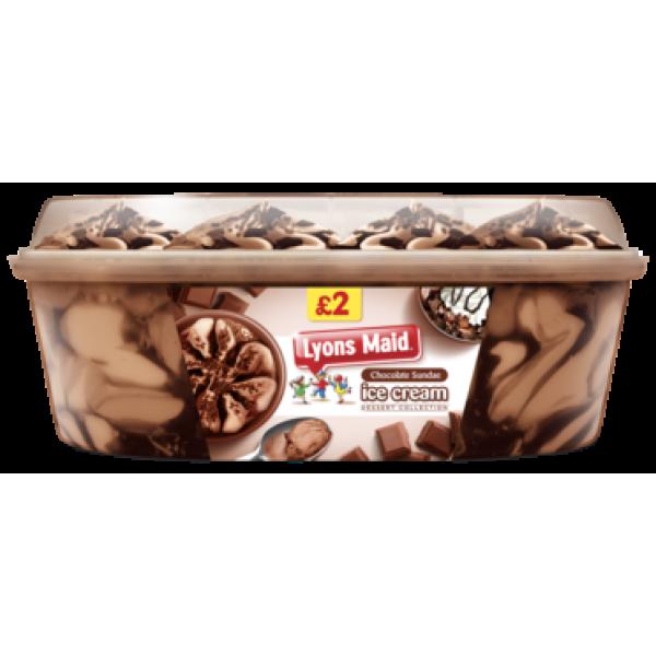 Lyons Maid Triple Chocolate Tub