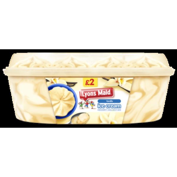 Lyons Maid Vanilla Tub