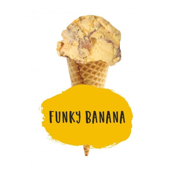 Marshfield Farm Funky Banana Cream 5ltr Napoli