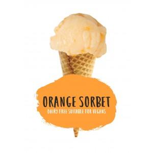 Marshfield Farm Orange Sorbet 2.4 ltr