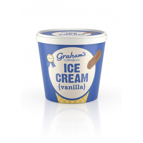 Graham's Vanilla ice cream Tub