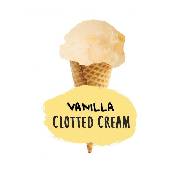 Marshfield Farm Vanilla Clotted Cream 5ltr Napoli