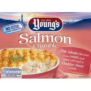 Young's Salmon Crumble 340g