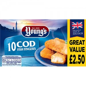 Young's Cod Fish Fingers