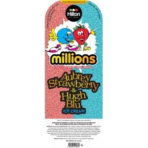Millions Aubrey Strawberry & Hugh Blu