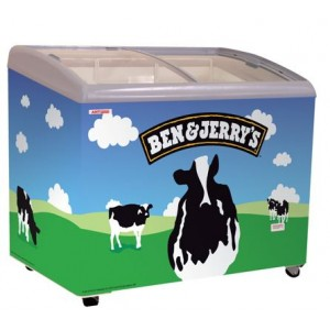 Vista 12 Ben & Jerrys Branded Freezer ( POA)