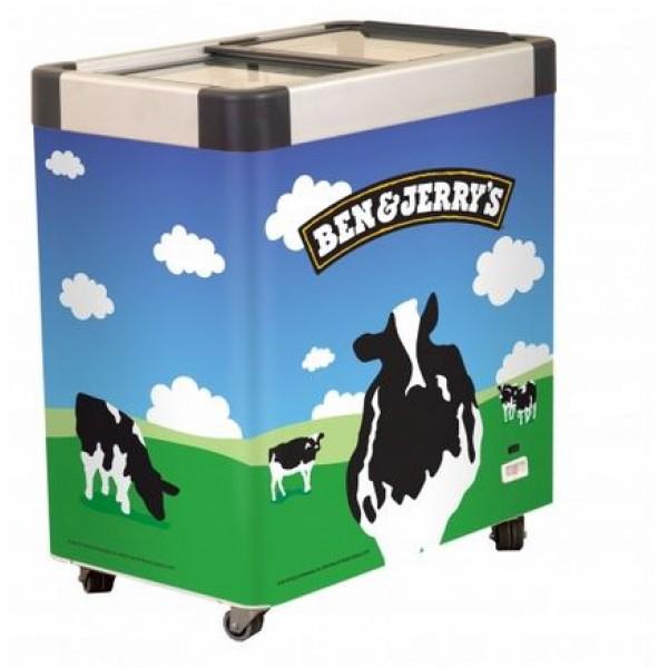 Ben & Jerry's Branded ice cream freezer - Queue 6
