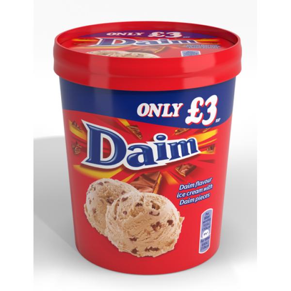Cadbury Diam Ice cream Tub