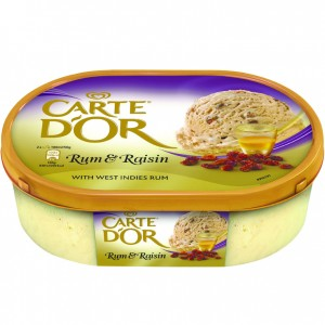 Carte D'Or Rum & Rasin 1ltr