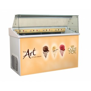 Top 7 Carte D'Or branded ice cream scooping freezer
