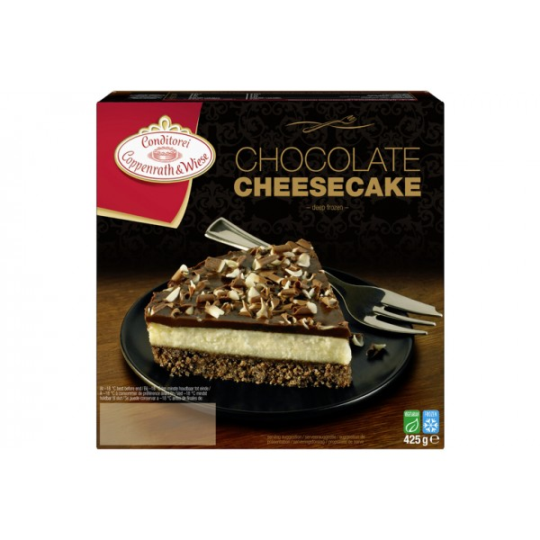 Coppenrath and Wiese Chocolate Cheesecake
