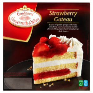 Coppenrath and Wiese Strawberry Gateau
