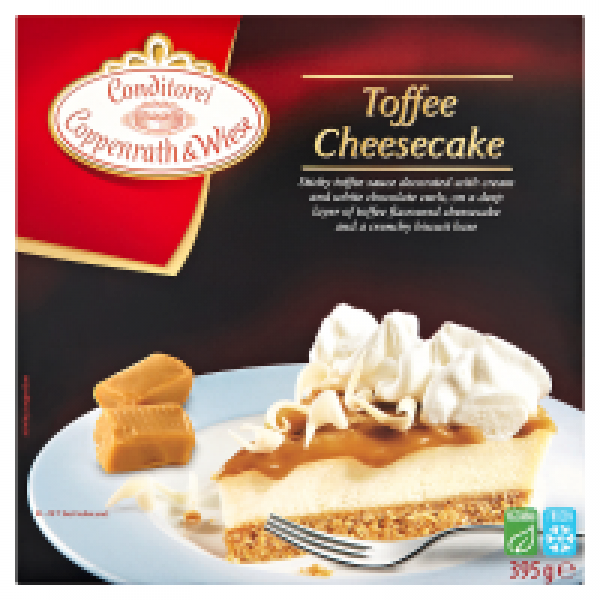 Coppenrath and Wiese Toffee Cheese Cake