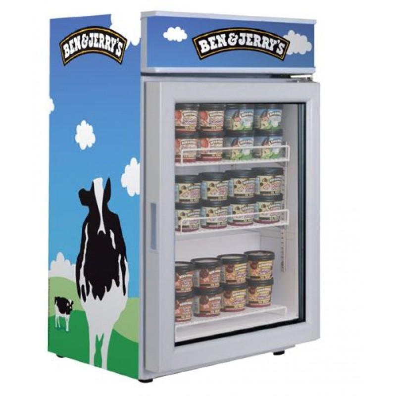 Ben Amp Jerrys Counter Top Freezer