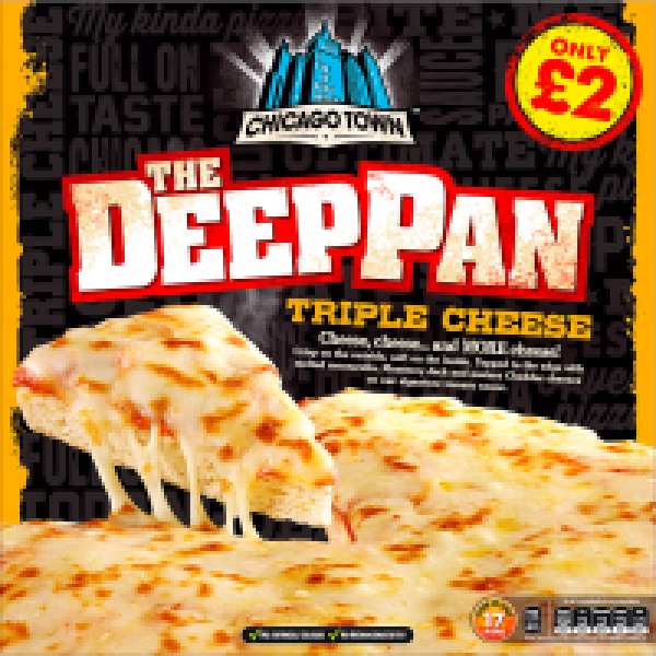 Chicago Town Deep Pan Cheese & Tomato