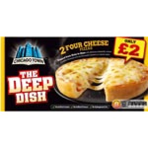 Chicago Town Deep Del Cheese & Tomato
