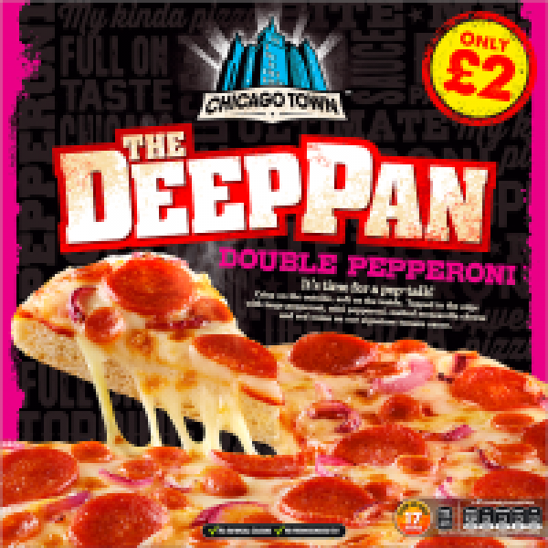 Chicago Town Deep Pan Pepperoni