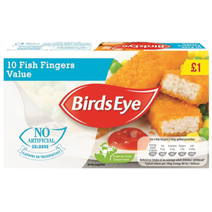 Birds Eye Value Fish Fingers