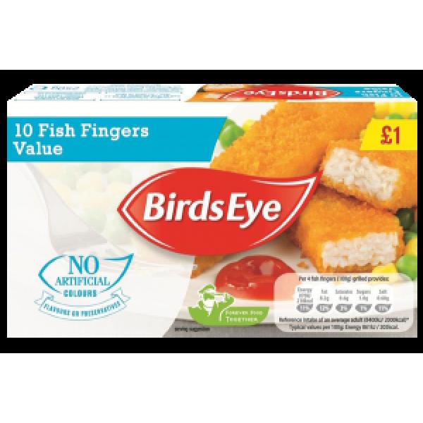 Birds Eye Value Fish Fingers