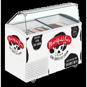 Marshfield ice cream scooping freezer