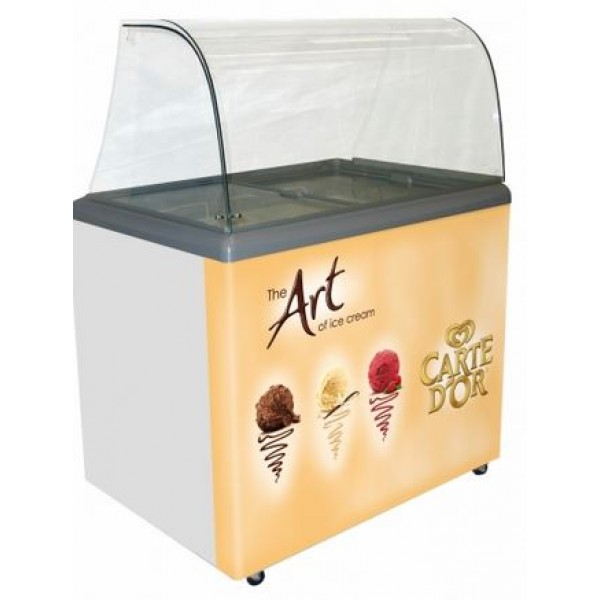 SP6 Carte D'Or Branded ice cream scooping freezer