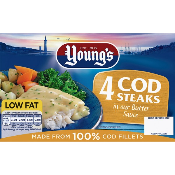 Young's Cod in Butter