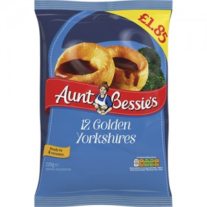 Aunt Bessie's Yorkshire Puddings