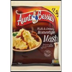 Aunt Bessie's Mash Potato