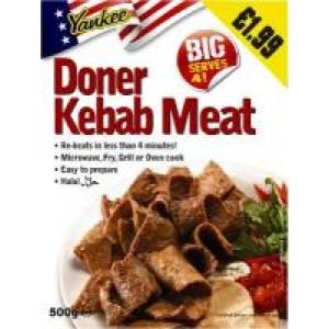 Yankee Donner Kebab Meat 500g