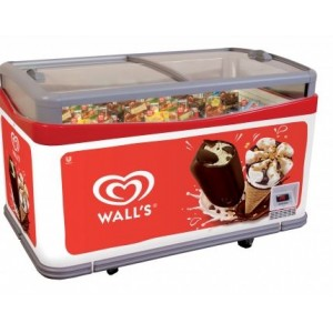 Wall's branded ice cream freezer - Ibiza 21