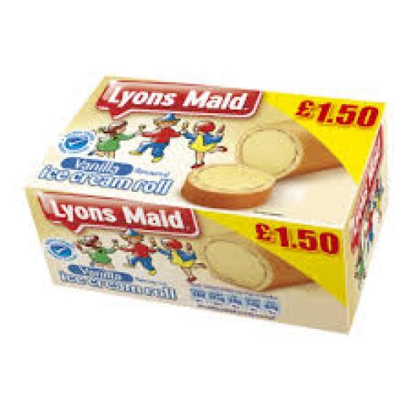 Lyons Maid Vanilla Roll
