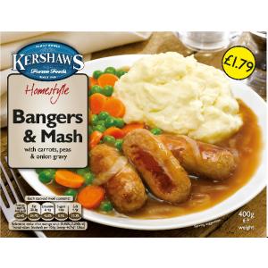 Kershaw's bangers & mash